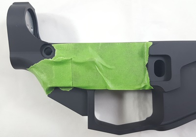5D Tactical receiver taping