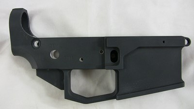 80% Arms 6061 billet lower receiver right side